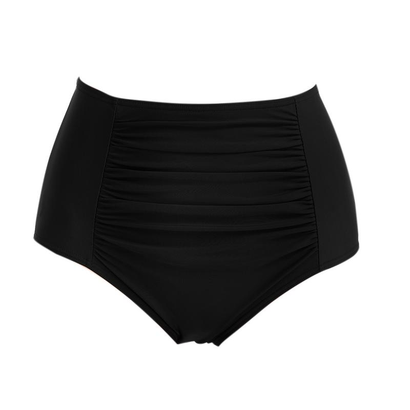 96063638b9 2019 New Women Bikini Bottom Sexy Bikini Shorts Tankinis Ruched ...