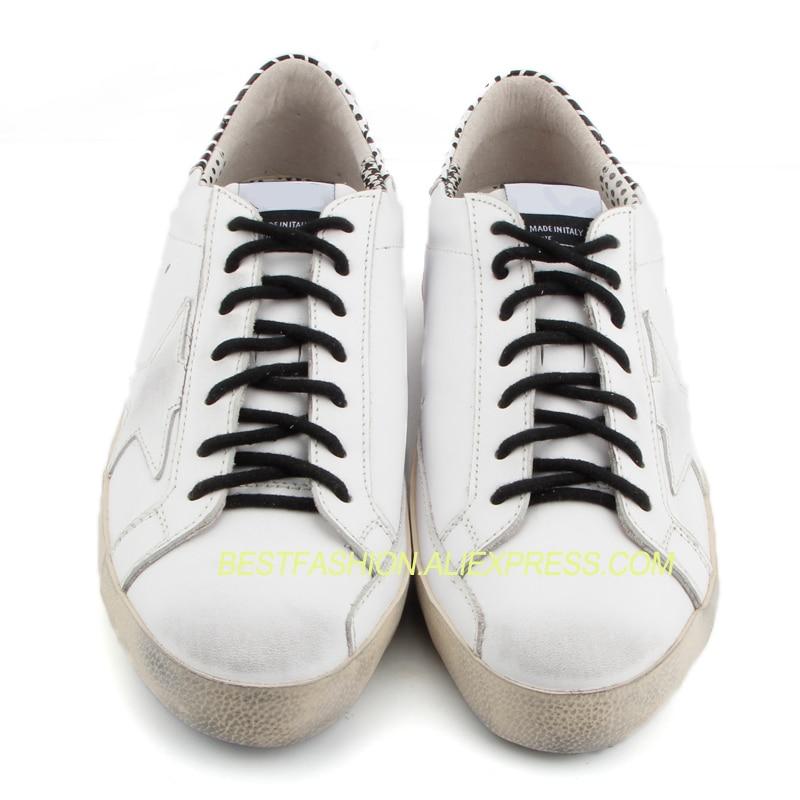 Les Respirant Vache Bande Queue Avec À Mode Ne Coréenne Pour Femmes Réel Chaussures Sale Décontracté Vieux En Noir Vintage Cuir Lacets zZWFdBHa