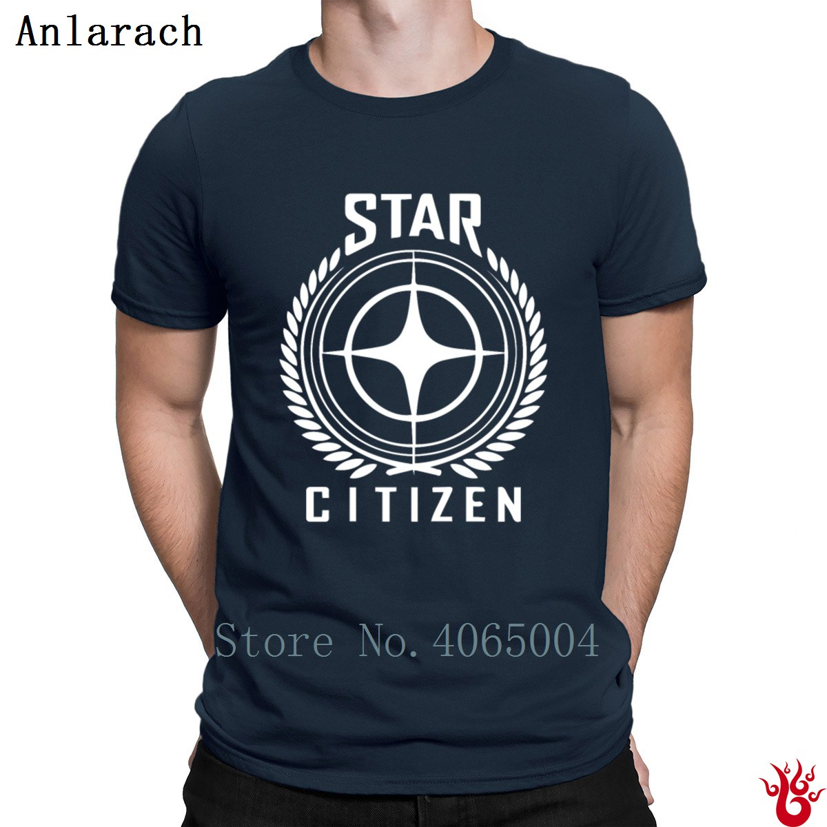 Star Citizen Space Mmo T-Shirt Pictures Cotton Basic Solid Men's Tshirt 2018 Fashion Famous Tee Shirt Size S-3xl Hiphop Tops image