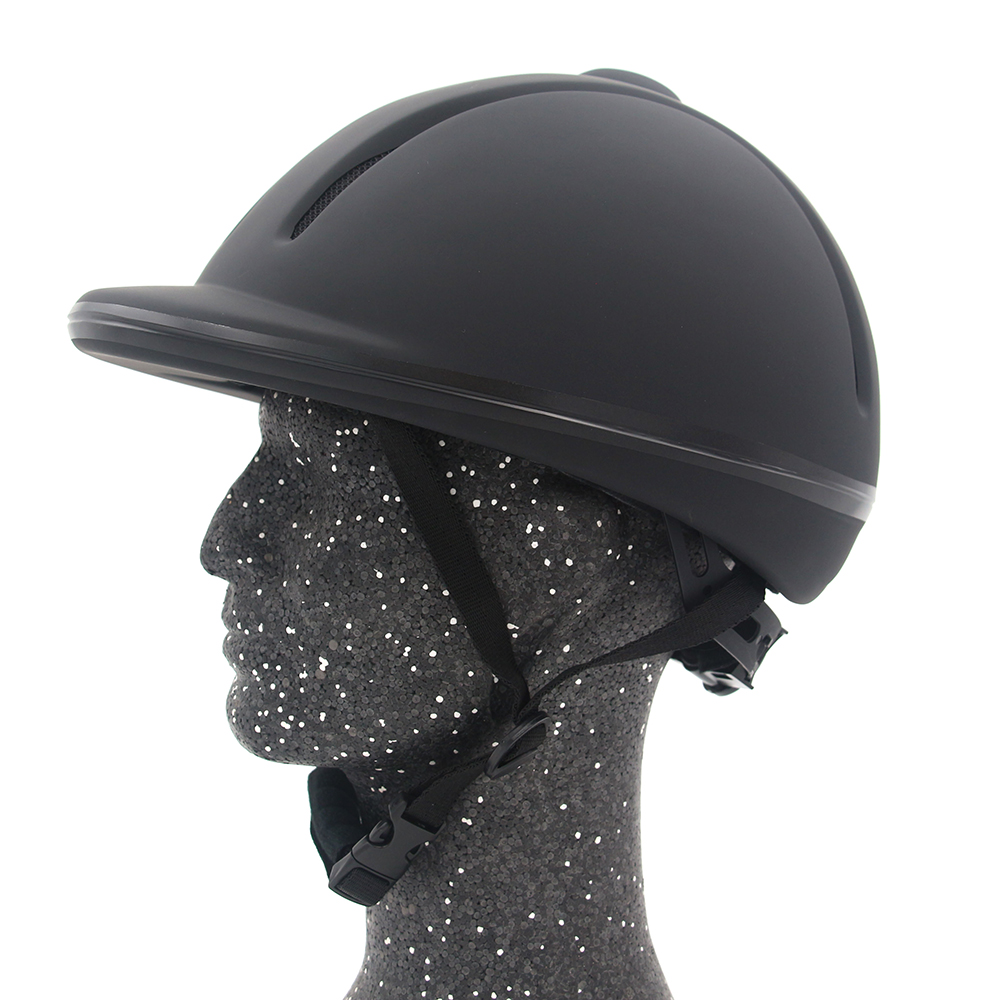 Image 2 - Professional Horse Riding Helmet Adjustable Size Half Face Cover Protective Headgear Secure Equipment for Questrian Riders-in Body Protectors from Sports & Entertainment