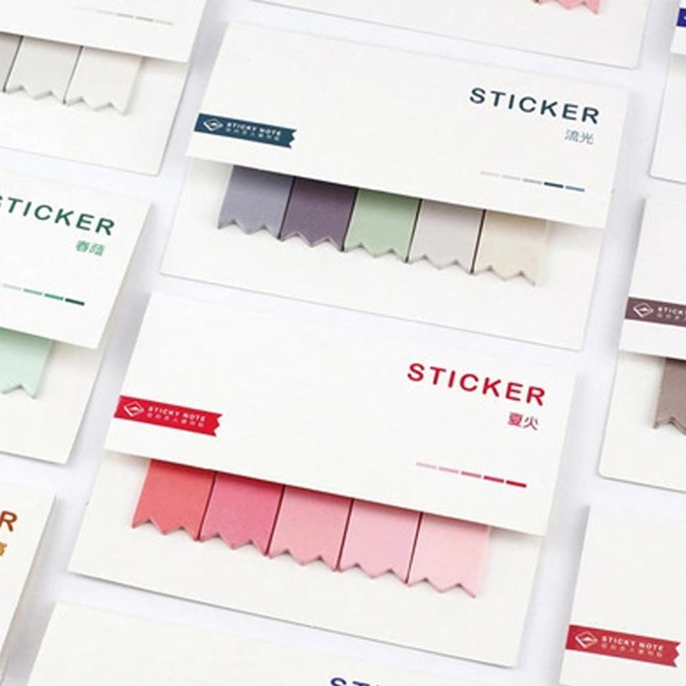 Creative Sticky Notes Planner DIY Sticker Page Index Office School Supplies Simple Utility Stationery R20