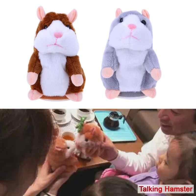 Baby Spielzeug Schöne Reden Hamster Sprechen Sprechen Sound Rekord Wiederholen Gefüllte Plüsch Spielzeug Tier Hamster Spielzeug Für Kinder