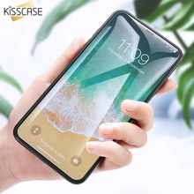 KISSCASE Clear Tempered Glass For iPhone 5 5S SE Screen Protector For iPhone 6S 7 Plus 4 4S Ultra Thin Protective Front Film
