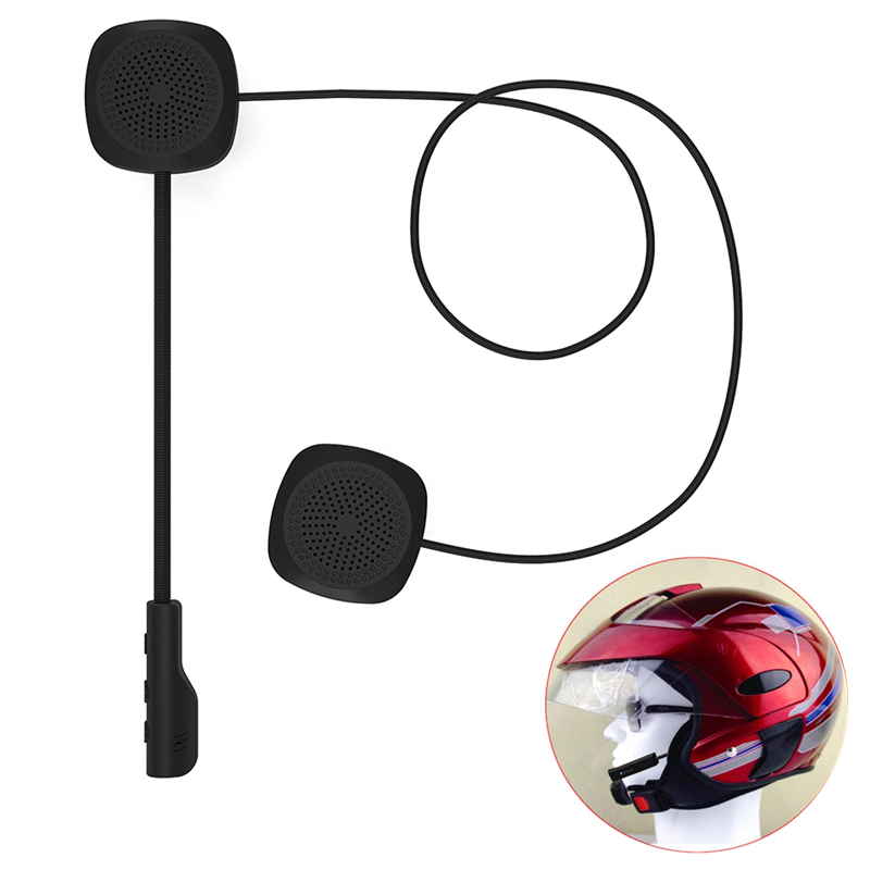 2019 Newest Moto Bluetooth Anti-interference Helmet Headset Motorcycle Riding Handsfree Music Headphone For MP3 MP4 Smartphone