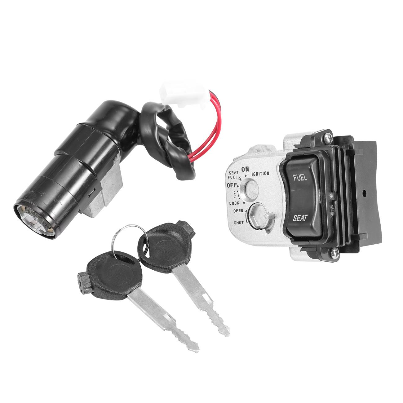 Ignition Switch Barrel Lock With Keys For Honda PCX 125 150 2010 2011 2012 2013