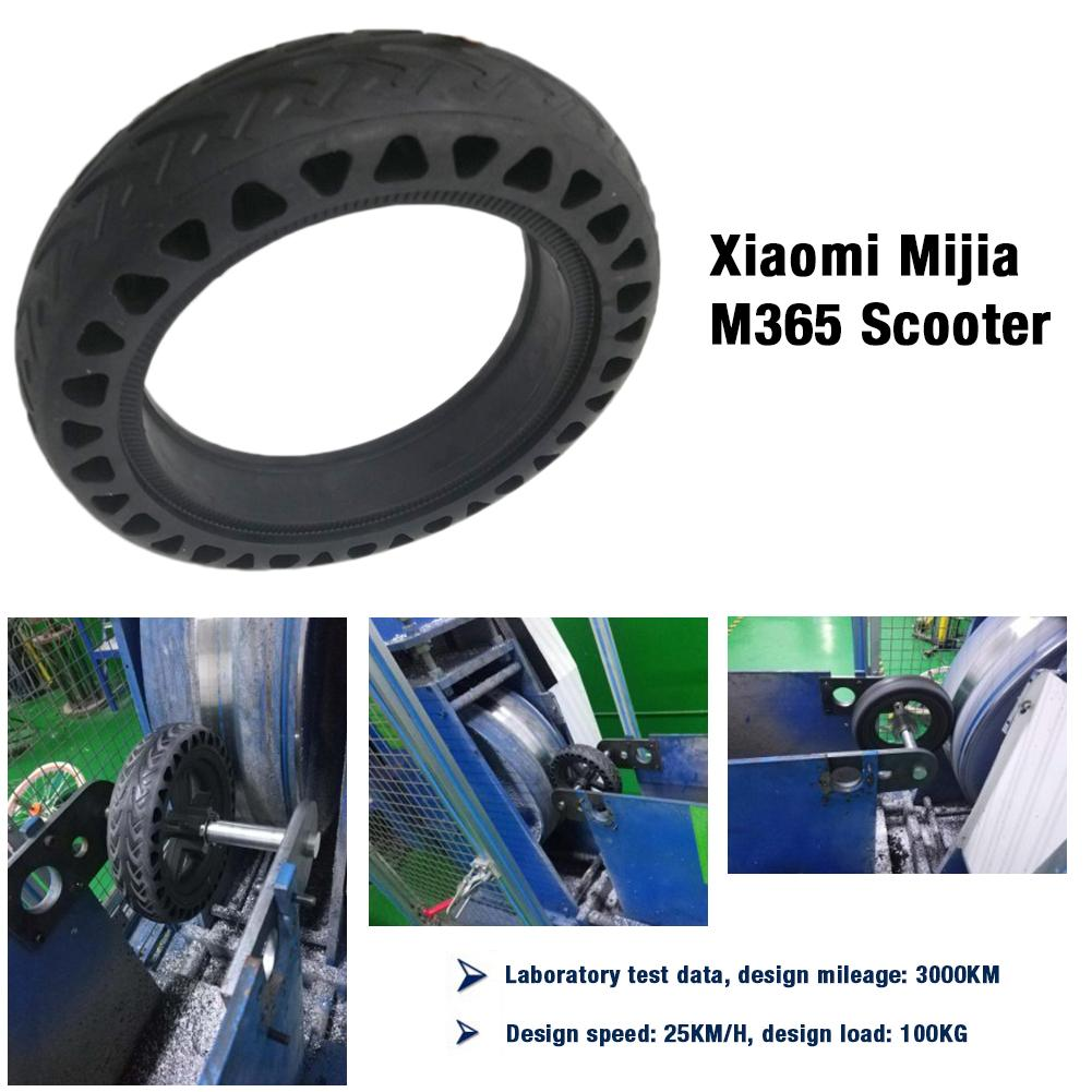 Image 5 - Solid Tire Tubeless Drilled Scooter Replacement Tire For Xiaomi M365 Electric Scooter 8.5 Inches Solid Tire Electric Scooter-in Skate Board from Sports & Entertainment