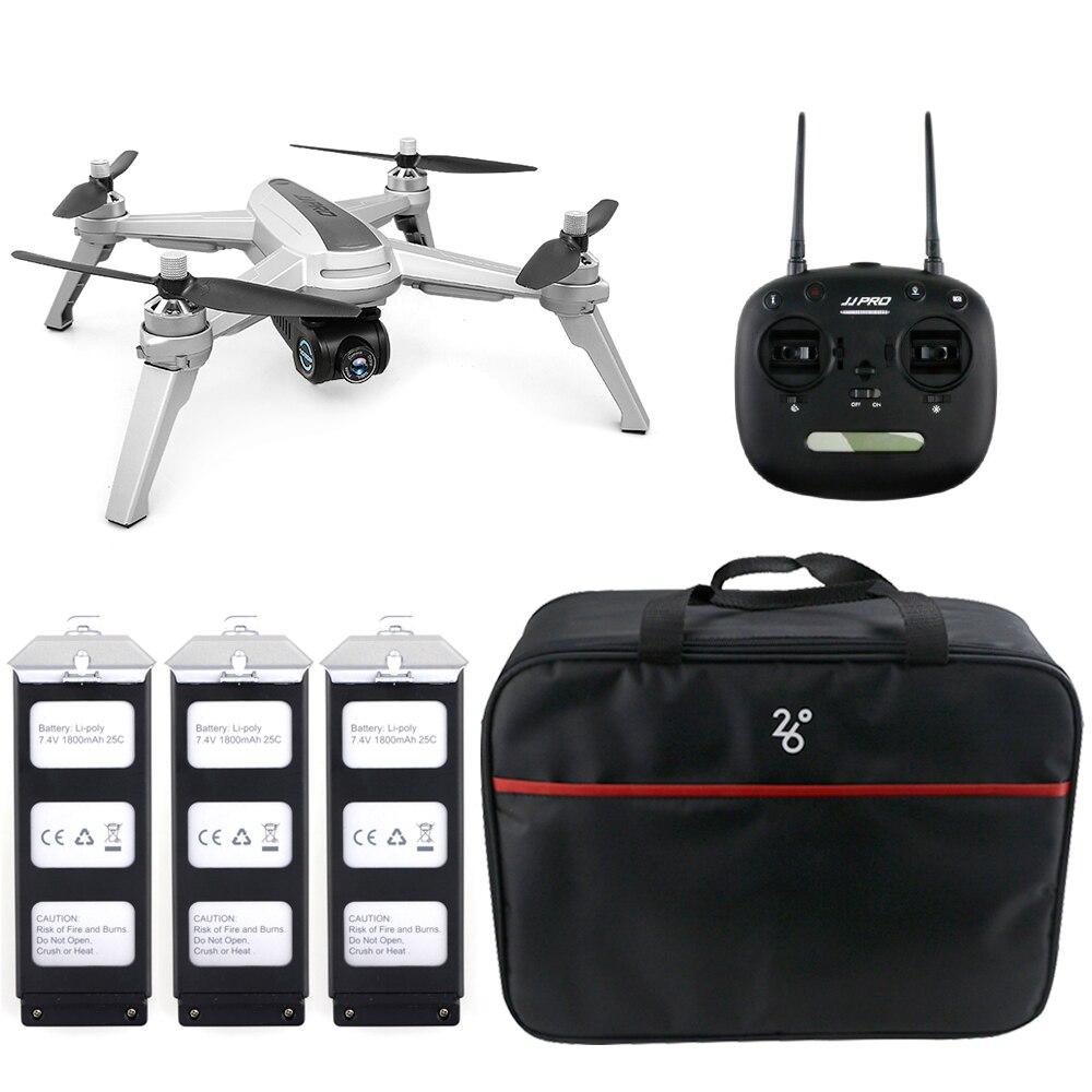 JJRC JJPRO X5 5G WiFi FPV drone rc GPS Positionnement Maintien D'altitude 1080 P Caméra Point De Intéressant Suivre moteur sans balai drone
