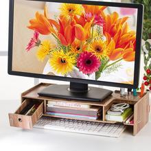 Laptop Regal Laptop Tisch Monitor Laptop Stand Computer Bildschirm Unterstützung Moderne Büro Schreibtisch Rack Regal