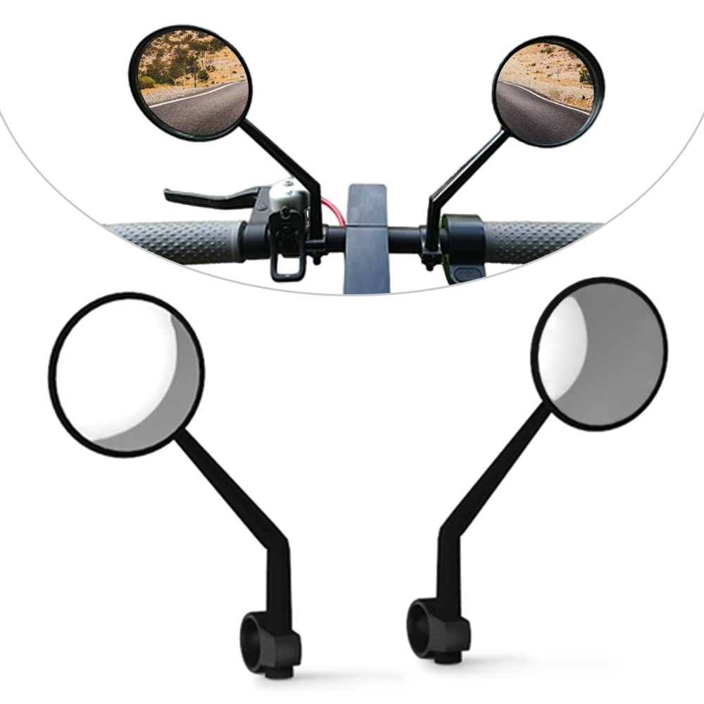 2 PCS Bicycle Mirror Rearview Mirrors Rear View Glass for Xiaomi Mijia M365 Electric Scooter Bicycle Cycling Accessories2 PCS Bicycle Mirror Rearview Mirrors Rear View Glass for Xiaomi Mijia M365 Electric Scooter Bicycle Cycling Accessories