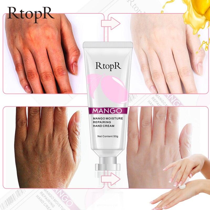 RtopR World Premiere Mango Bright Moisturizing Liquid High Quality Skin  Hand Whitening Face Care Anti-aging Serum Hand Cream
