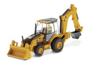 Diecast Masters 1/87 Scale Caterpillar Cat 450E Backhoe Loader Diecast Model #85263