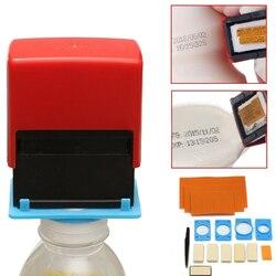 """DWZ nowy ręczny ręczny drukarki kod narzędzie kodowania data zielony przycisk """" pokaż dane kontaktowe maszyna drukarska A4 w Zestawy narzędzi ręcznych od Narzędzia na"""