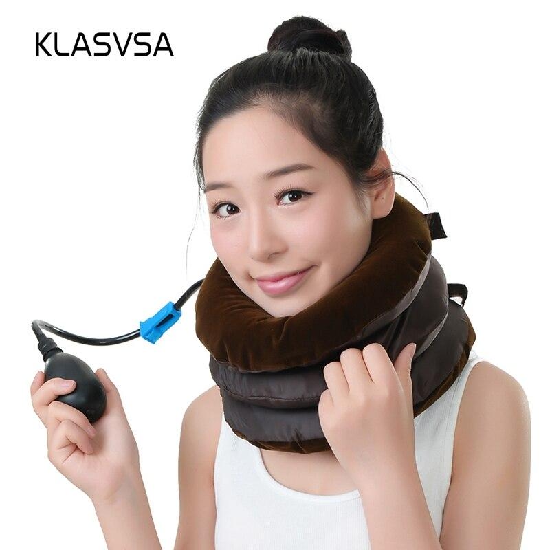 Aufblasbare Hals Traktion Nackenkissen Massage Und Entspannung Entlasten Ermüdung Spannung Nackenmassagegerät Massage & Entspannung