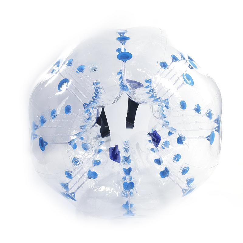 1.5 M de Alta Qualidade PVC Insuflação de Ar Toque Corpo Bola Estresse Bola Crianças Adultos Wearable Transparente Inflável Brinquedo Esportes Ao Ar Livre - 3