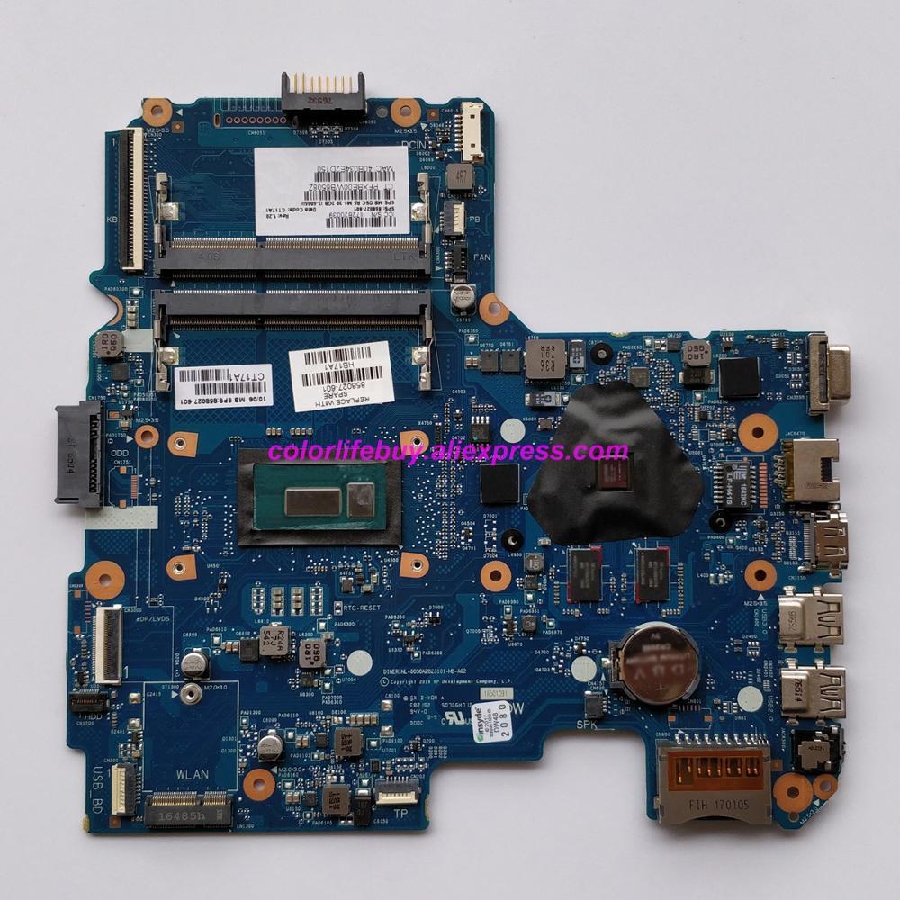 Натуральная 858027 601 858027 001 858027 501 R5 M1 30/2 ГБ i3 5005U материнская плата с процессором для ноутбука материнская плата для HP 14 AM серии ноутбук ПК-in Материнская плата для ноутбука from Компьютер и офис
