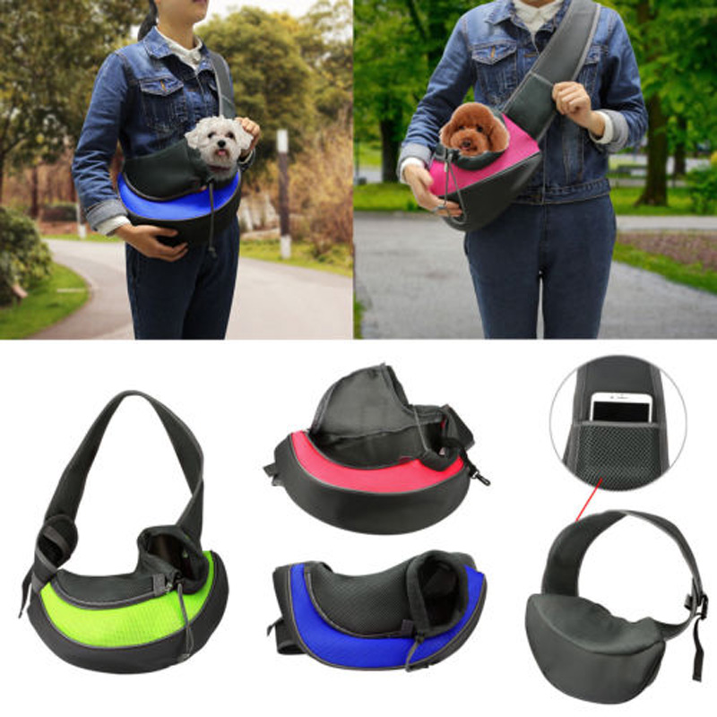 Pet Carry Travel Cage Carrier Bag Dog Cat Rabbit Foldable Portable Handbag Case
