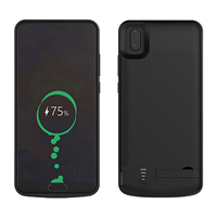 CASEWIN Battery Charger Case For Huawei P20 Pro Battery Case Soft Silicone 6500mAh Power Bank External Backup Charger phone Case