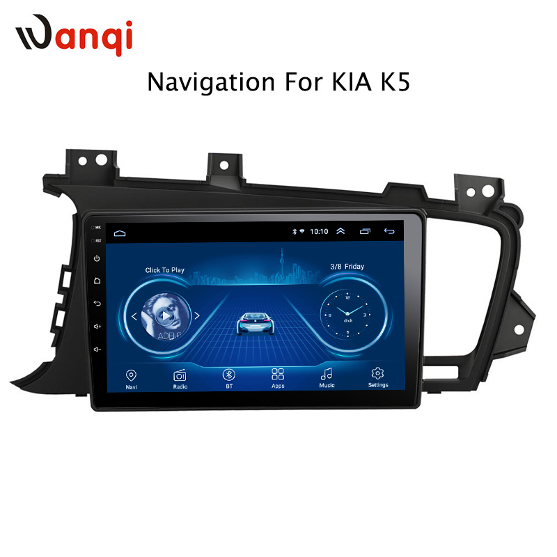 9 inch Android 8.1 Car gps With Touch screen Car <font><b>Video</b></font> player for Kia K5 2011-2015 Auto radio with wifi <font><b>Camera</b></font> TV image