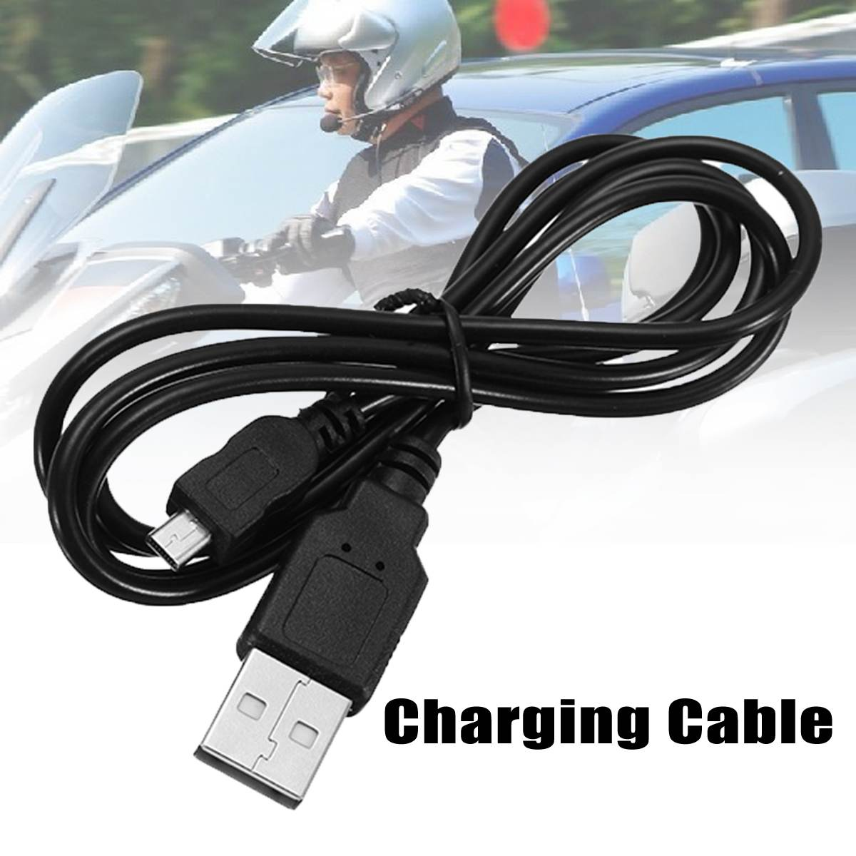 Motorcycle Helmet Intercom Charging Cable BT-S3 BT-S1 USB Charge Line Helmet Headset Charging Cable for BT-S2 , BT-S3 and BT-S1(China)
