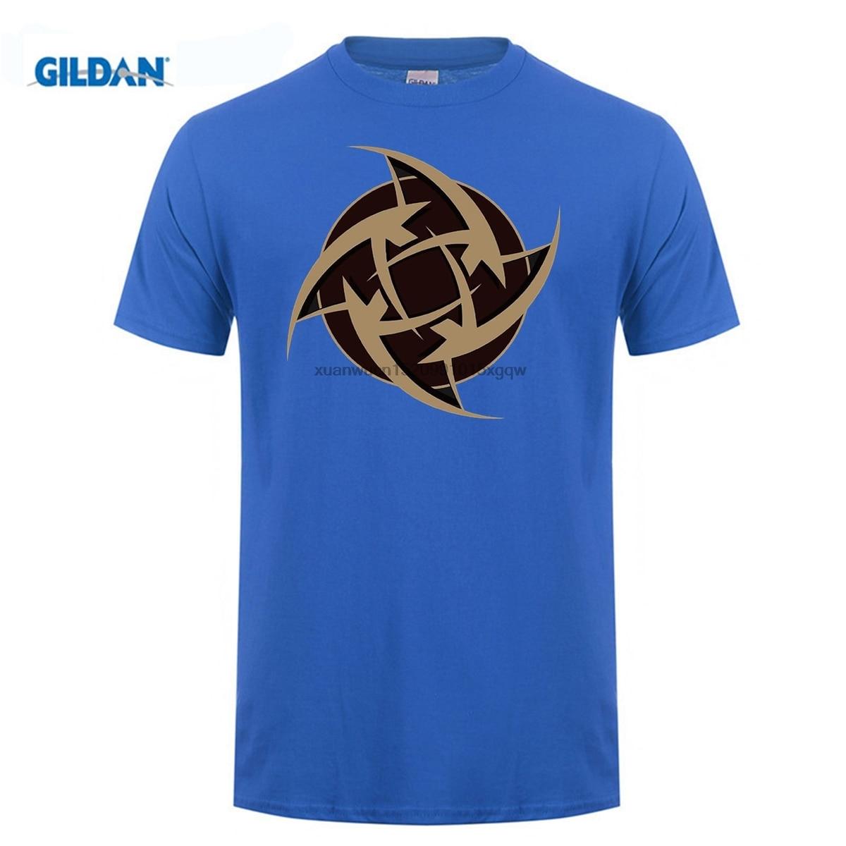 GILDAN Different Colours High Quality Men 39 s Csgo Team Ninjas In Pyjamas Logo Tee Shirts Black in T Shirts from Men 39 s Clothing