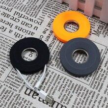 Портативный держатель для наушников для сматывания кабеля, органайзер для наушников, магнитный шнур, держатель пончика, силиконовая коробка для хранения