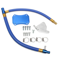 1 Set EGR Valve Cooler Delete Kit Exhaust Gas Recirculation Valve For Silverado Sierra 6.6L HD LML Duramax For Diesel EGR 11 15