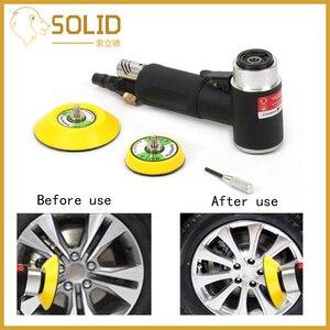 Image 2 - Пневматическая шлифовальная машинка, мини шлифовальный аппарат, набор для полировки и шлифовки, 1/2 дюйма, диск для авто, для обработки дерева