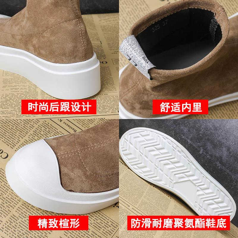 Épais La Feminino Black Femmes Augmenter Casual Sapato Invisible Sneakers forme Fond De 77 Chaussures Plate Lettre Dames Mode Coréenne khaki 4zxwYR1n