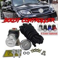 Aluminum T2 Car Universal Adjustable Boost Controller Turbo Mbc Racing Manual Gauge Turbo Boost Controller Kit 1 150 PSI