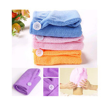 Faroot 56x22cm Absorbent Microfiber Hair Wrap Towel Drying Bath Spa Head Cap Turban Wrap Twist Quick Dry Shower Cap Bathrobe Hat(China)