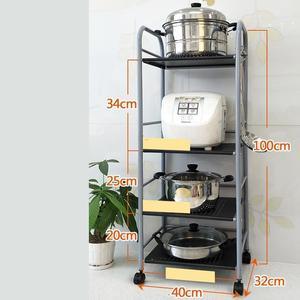 Image 4 - Storage Rack Scaffale Mensole Kitchen Shelf Paper Towel Holder Repisas Y Prateleira Estantes Organizer Trolleys Shelves