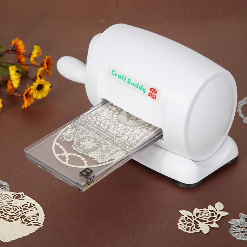 Machines à découper matrices découpe gaufrage maison bricolage en plastique Scrapbooking papier Cutter carte outil carte Cutter Machine de découpe