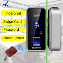 2000Users Smart lock Fingerprint lock Remote control Fingerprint door lock cerradura inteligente ID card reader for office