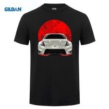 GILDAN Nissan 370z Red Flag T-Shirt