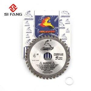 Image 5 - SI FANG hoja de sierra Circular de alta calidad, 60 100 dientes, aleación de carburo de 4 12 pulgadas, herramienta rotativa utilizada para cortar madera y Metal de aluminio