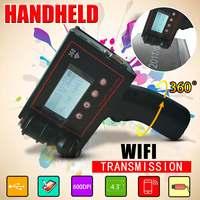360PLUS HD600DPI Handheld Intelligent WiFi Inkjet Printer Coder Coding Machine For Carton Rubber Metal Expiry Date