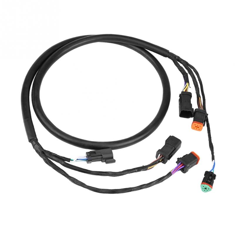 US $49.37 22% OFF Black Motor Cable Wiring Harness for OMC Johnson on johnson outboard control box, johnson outboard gauges, johnson outboard engine paint, johnson outboard mounting bracket, johnson outboard rectifier, johnson outboard fuel lines, johnson outboard fuel pump kit, johnson outboard ignition coil, johnson v4 90 hp outboard, johnson outboard throttle cable, johnson outboard fuel filter, johnson outboard starter, johnson outboard wiring diagram, johnson outboard fuel hose, johnson outboard carburetor, johnson outboard tach wiring, johnson outboard wiring coil, johnson outboard stator, johnson outboard shifter, johnson outboard manual,
