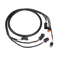 Black Motor Cable Wiring Harness for OMC Johnson Evinrude Outboard 176333 High Quality Plastic Accessories NEW Arrivals
