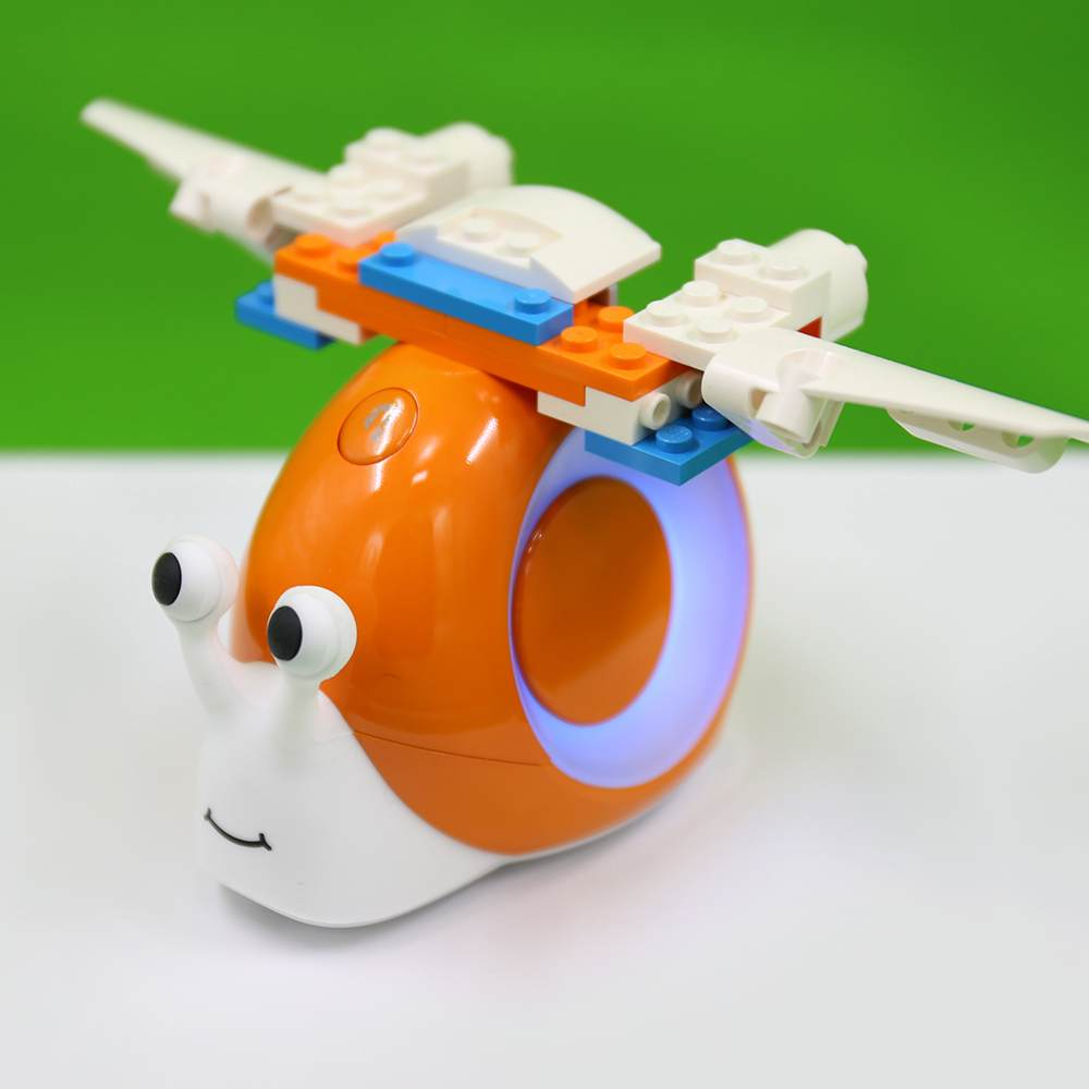 Persale Robobloq Qobo Smart Escargot RC jouet robot Pour VAPEUR Programmable Éducatifs
