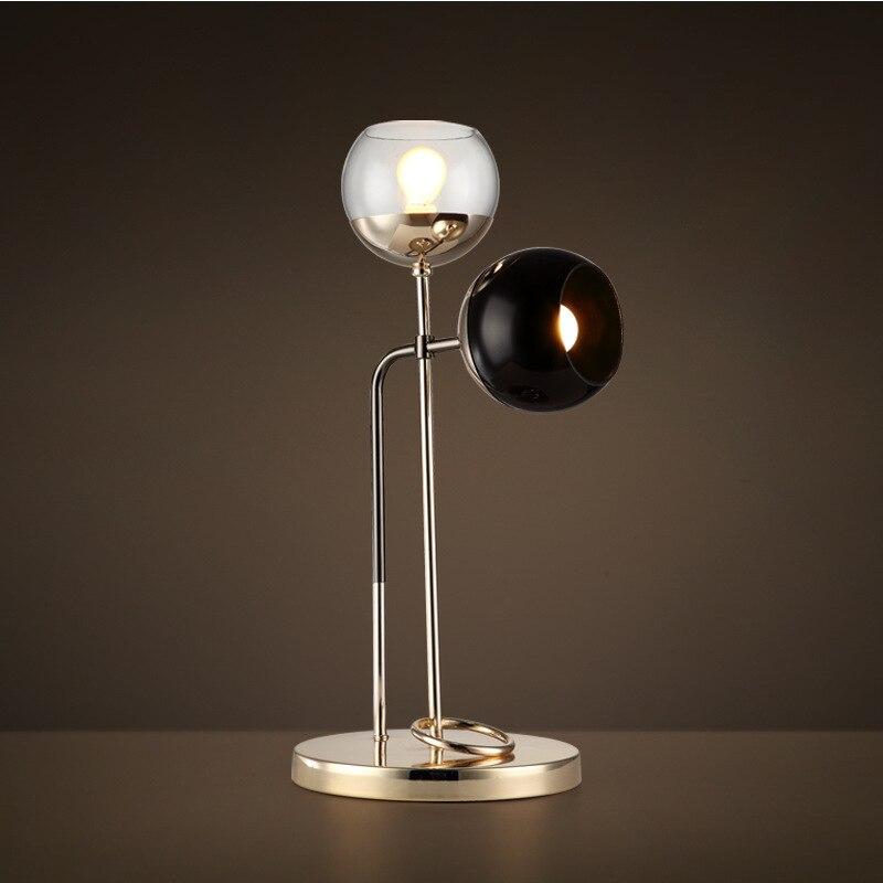 Nordique Postmodern Simple fer Art apprentissage lecture travail lampe de bureau personnalité rétro bureau lampe de bureau