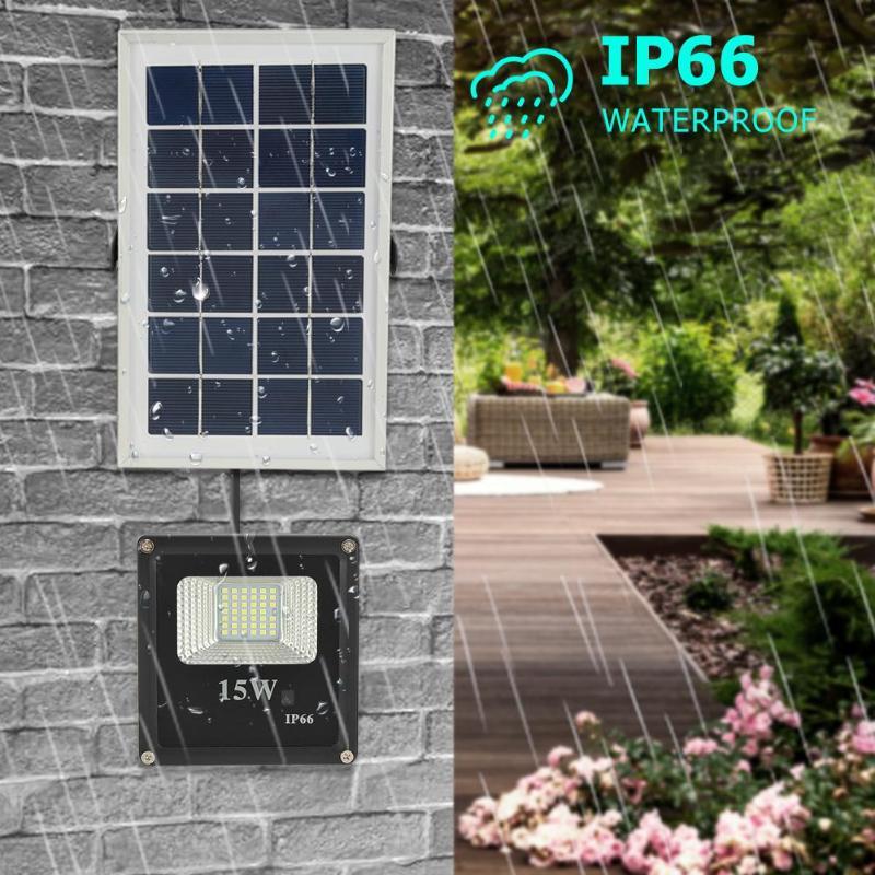 da lampada controle remoto painel solar jardim paredes rua luz 04