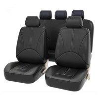 Carnong car seat cover leather pu for suzuki wagon X5 liana Landy splash alto swift SX4 sedan Jimny kizashi auto seat covers