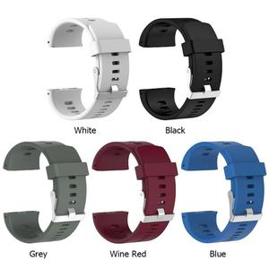 Image 2 - ALLOYSEED Silicone Replacement Wrist Watch Band for Polar V800 Smart Bracelet with Tool Smart watch Strap for Men Women 18.5cm