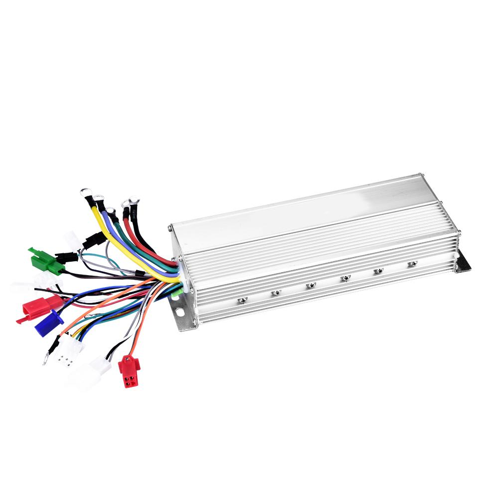 Electric Bicycle Controller 36V 48V 1500W 18 Tube Brushless Electric Bike Controller for Electric Bicycle Scooter