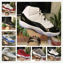 e3fe0f2347aaab 11s Prom Night Basketball Shoes 11 Men Women Cap And Gown Gym Red Space Jam  Concord