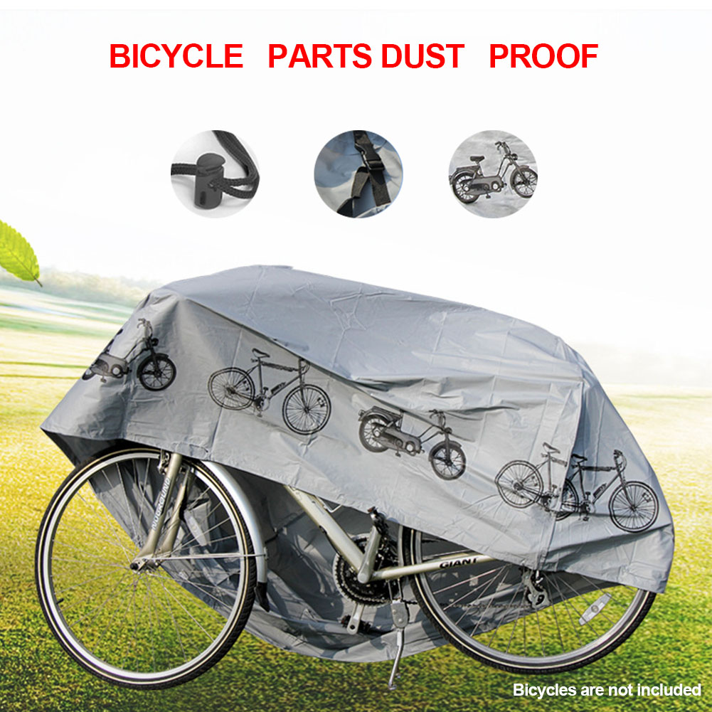 For Bike Covers 2 Cycle Bicycle Rain Waterproof All Weather Dust Resistant UV