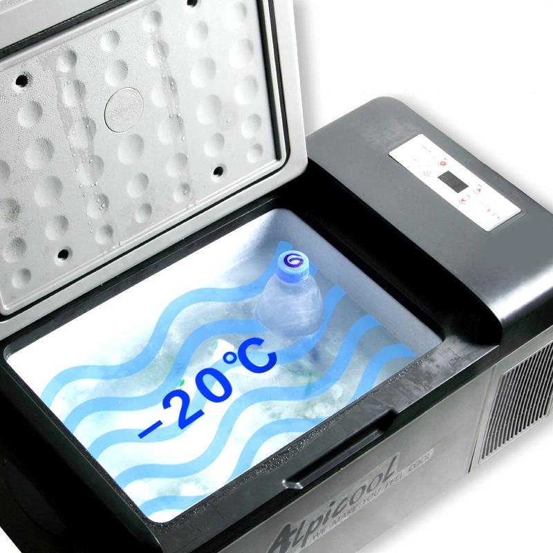 Image 3 - 20L Frige  20 Degrees 12V / 24V Portable Compressor Car Refrigerator App Control Mini Multi Function Home Cooler FreezerRefrigerators   -