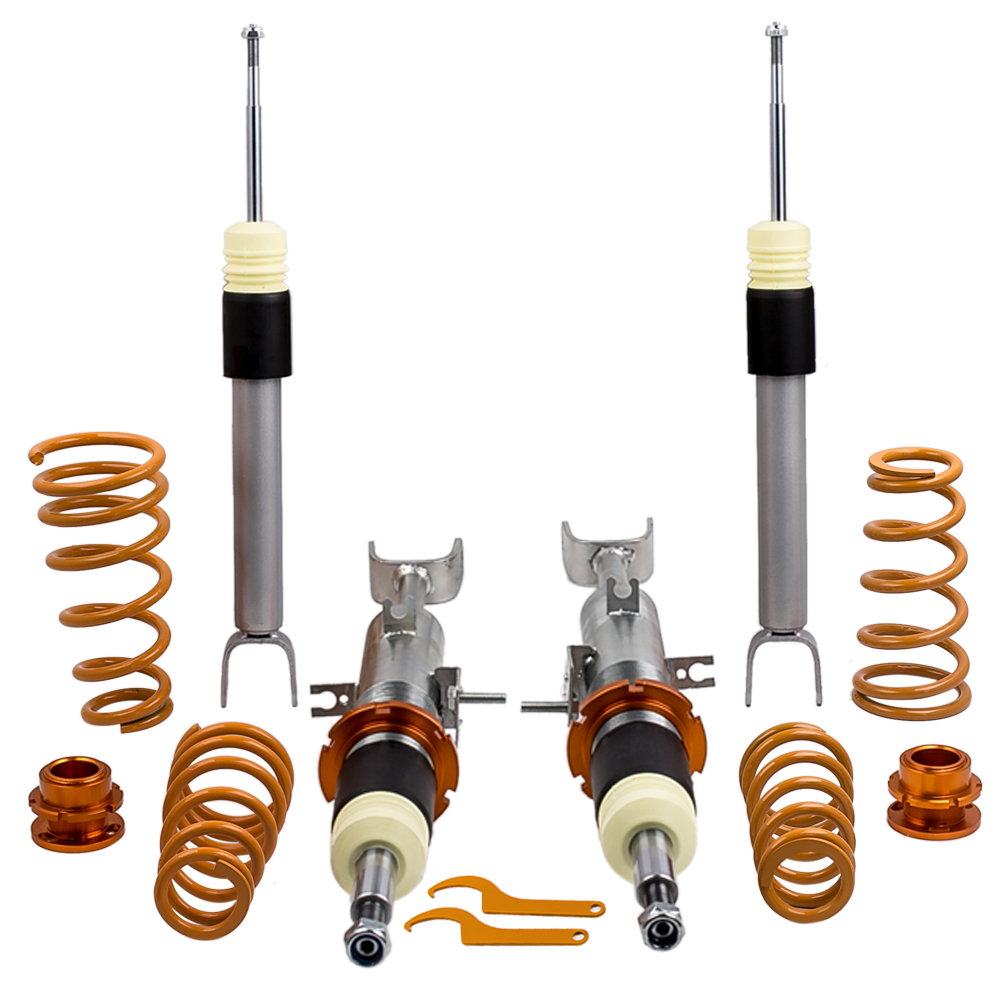 Coilovers Set For Infiniti G 2002 2012 Saloon for Nissan 350Z Z33 Coupe Convertible Lowering Coilover Spring Kit Shock Absorber