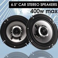 1 пара автомобильный аудио Динамик 6,5 Inch 400W 4 способ коаксиальный громкий Динамик универсальный автомобиль авто аудио стерео Hi-Fi громкий Динамик s