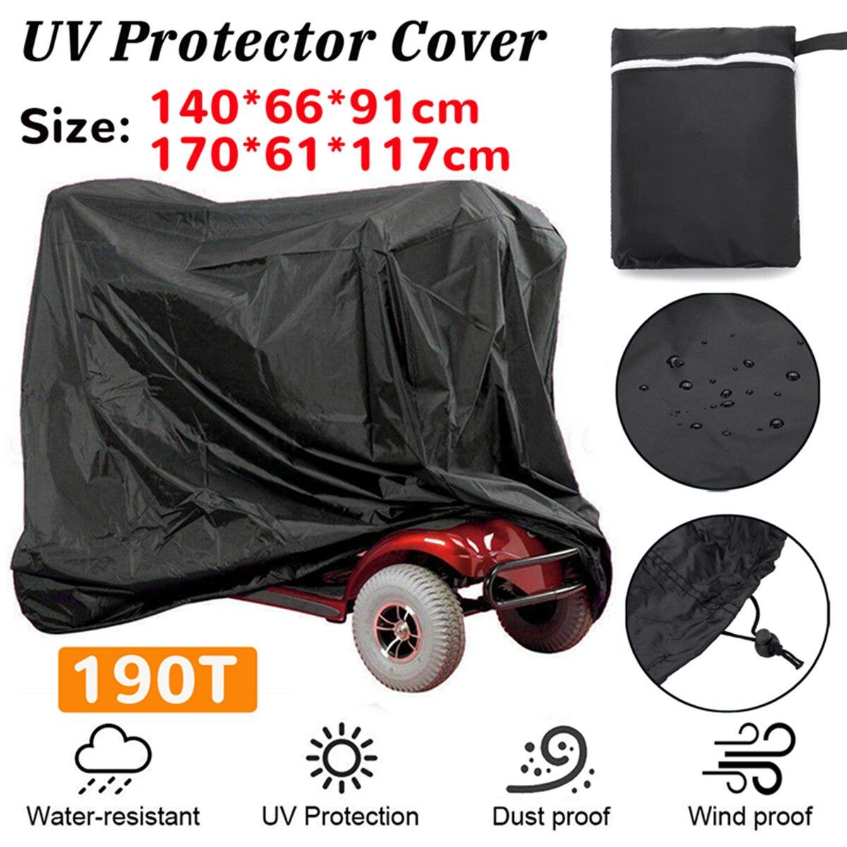 Universel Nylon Imperméable Bicyclette Vélo Couverture Outdoor Rain Dust Protector